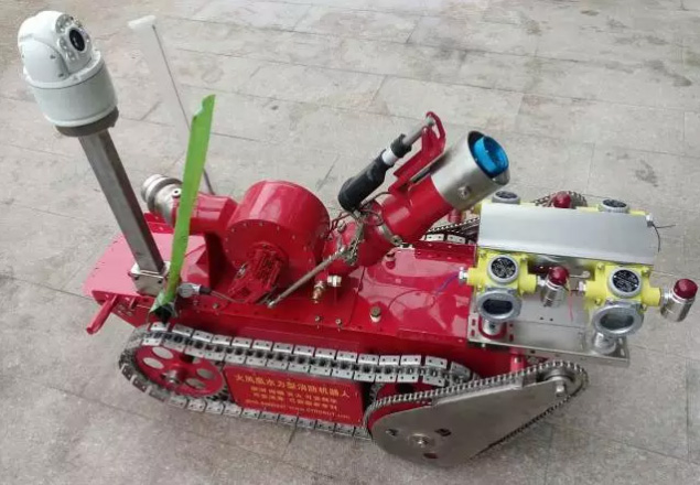 Phoenix high temperature fire + gas detection robot