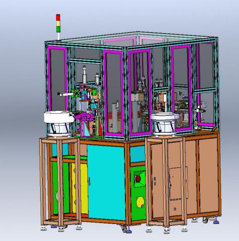 电位器开关=自动化振动盘送料分料转盘式精密组装加工中心