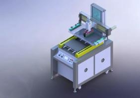 双平台丝网印刷机